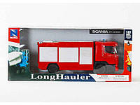 "335801. Вантажівка -пожарка Scania R12400 1:32 10523E ТМ""MULTITOYS"""