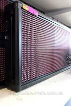 Cветодиодная бегущая строка Красная 100 x 40 см - Уличная, фото 3