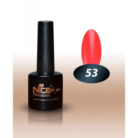 Гель лак nice for you №53