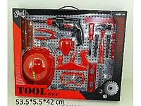 """331666. Набір інструментів T216A (B) з каскою 53*5,5*42 T216A(B) ТМ""""MULTITOYS"""""""