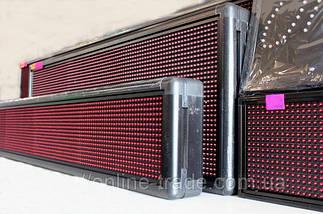 Cветодиодная бегущая строка Красная 100 x 40 см - Уличная, фото 2