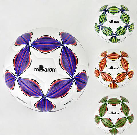 Мяч футбольный F 21964 (50) 4 цвета, 400-420 грамм, материал TPU, фото 2