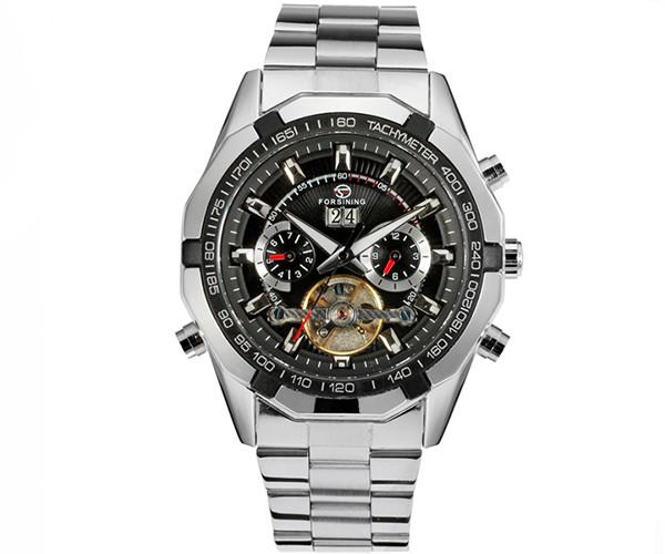 Механические часы с автоподзаводом FORSINING TEXAS - гарантия 12 месяцев