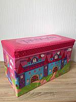 """Сундук для игрушек """"Замок принцессы"""" Bambi"""
