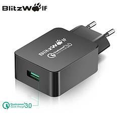 Універсальний зарядний пристрій BlitzWolf BW-S5 18W-24W Quick Charge 3.0 Швидка зарядка. 100% оригінал