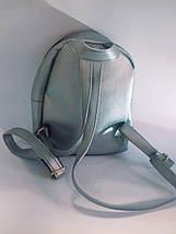 Рюкзак жіночий міні зі штучної шкіри, фото 3