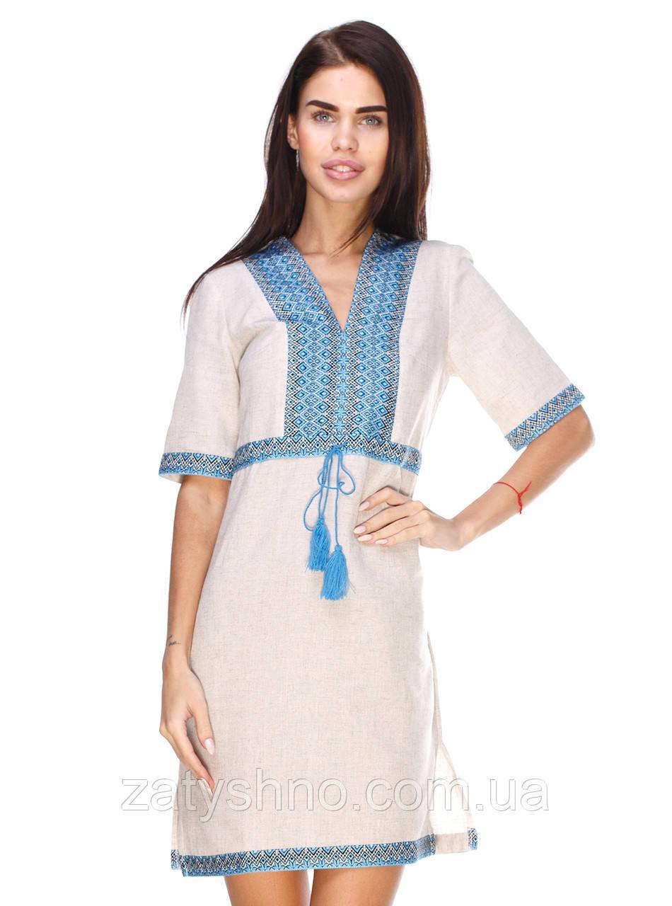 Вышитое платья в украинском стиле