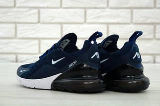 Мужские кроссовки Nike Air Max 270.Синие, фото 3