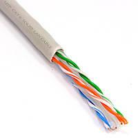 Кабель UTP Сat.6 KW-Link 4x2x(0,51CCA), диам.-5,4мм, 305м, фото 1