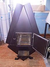 """Твердотопливная печь """"TURBINA-500"""" 3 мм, фото 3"""