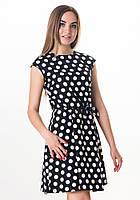Летнее женское платье Бантик от VOL Ange от VOL Ange m, горох