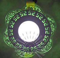 """LED панель Lemanso """"Афины"""" с зеленой подсветкой / LM1018 круг"""
