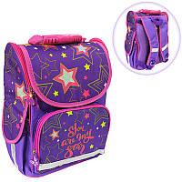 Ранец (рюкзак) - короб ортопедический - Звезды, размер 34,5*25,5*13см Smile988406