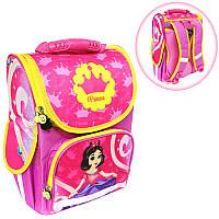 Ранец (рюкзак) - короб ортопедический для девочки - Принцесса, размер 34,5*25,5*13см Smile988433
