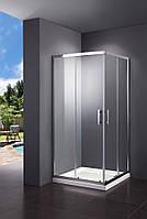 SHRC53906 FRAME Душевая кабина, раздвижная - 90*90 - хром/прозрачное стекло