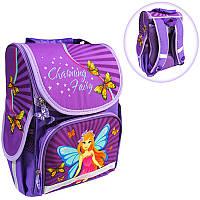 Ранець (рюкзак) - короб ортопедический для девочки - Фея, размер 34,5*25,5*13см Smile988386