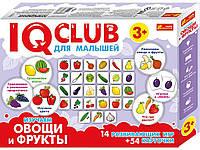 """336284. Навчальні пазли.Вивчаємо овочі та фрукти.IQ-club для малюків 13 288707 ТМ""""РАНОК"""""""