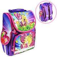 Ранець (рюкзак) - короб ортопедический для девочки - Принцесса Фея, размер 34,5*25,5*13см Smile988381