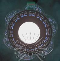 """Світлодіодна LED панель """"Афіни"""" з синім підсвічуванням / LM1018 коло, фото 1"""