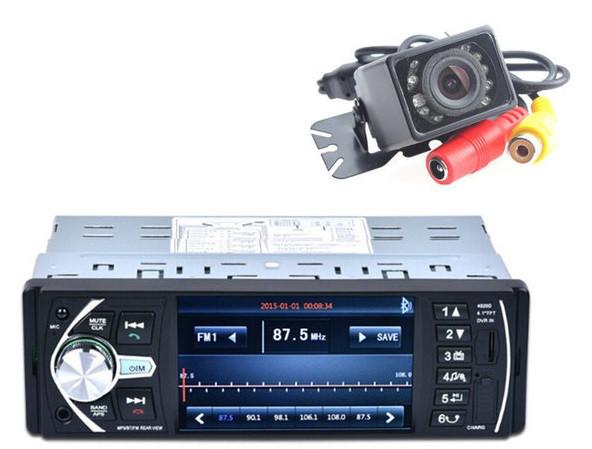 Магнитола популярная качественная автомобильная Pioneer 4020D + пульт на руль + видеорегистратор