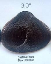 Стойкая крем-краска Color One KROM 3/0 темно-каштановый , 100 мл