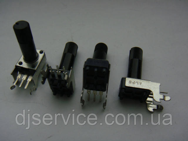 Потенциометр ALPS b5k (5k) 17mm для пультов