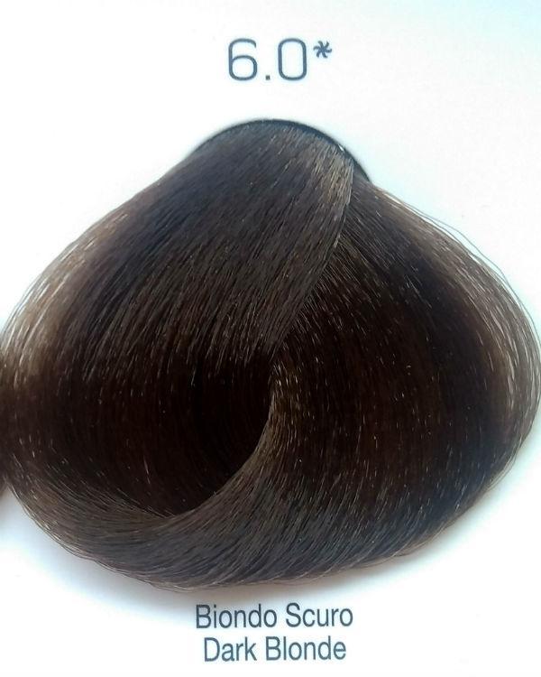 Стойкая крем-краска Color One KROM 6/0 темный блондин , 100 мл