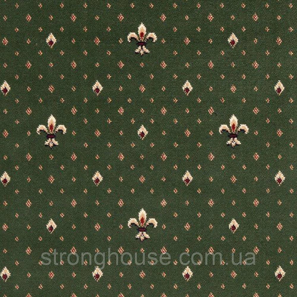 Ковролин Balta Wellington 4957-40 зеленый (Балта Веллингтон)