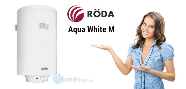 Roda Aqua White M