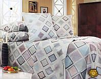 Двуспальный комплект постельного белья 180х220 бязь (Т0492)