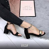 Женские босоножки на каблуке, фото 1