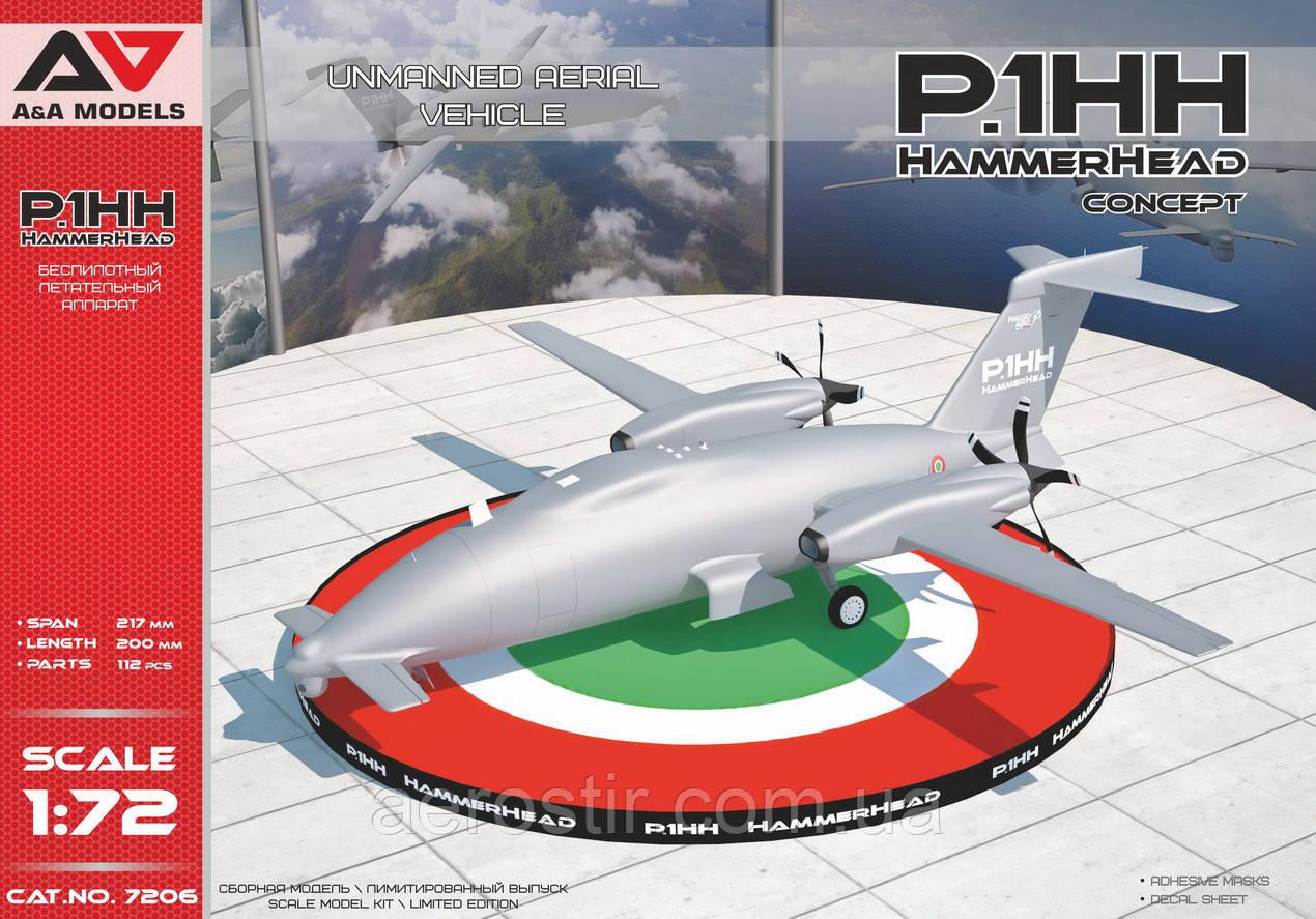 """P1.HH Hammerhead"""" 1/72 A&A Models 7206"""