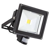 Прожектор светодиодный 30Вт 220В с датчиком движения, фото 1