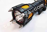 Современный супермощный мультифункциональный фонарь с сиреной, лезвием, нож, шипами Poliсe 12V X 007
