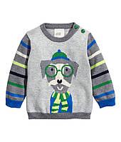 Детский свитер для мальчика  9-12 месяцев