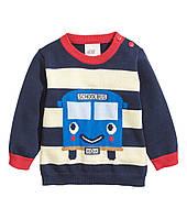 Детский свитер для мальчика  6-9 месяцев, фото 1