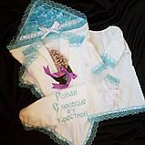 Крыжма для крестин для мальчика Ангел , фото 3