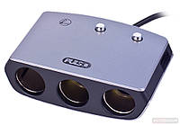 Разветвитель прикуривателя Pulso SC-3005 3 выхода + USB 2400mA 12/24V