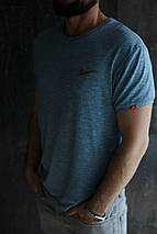 Мужская футболка Nike KD-2207.Серая, фото 3
