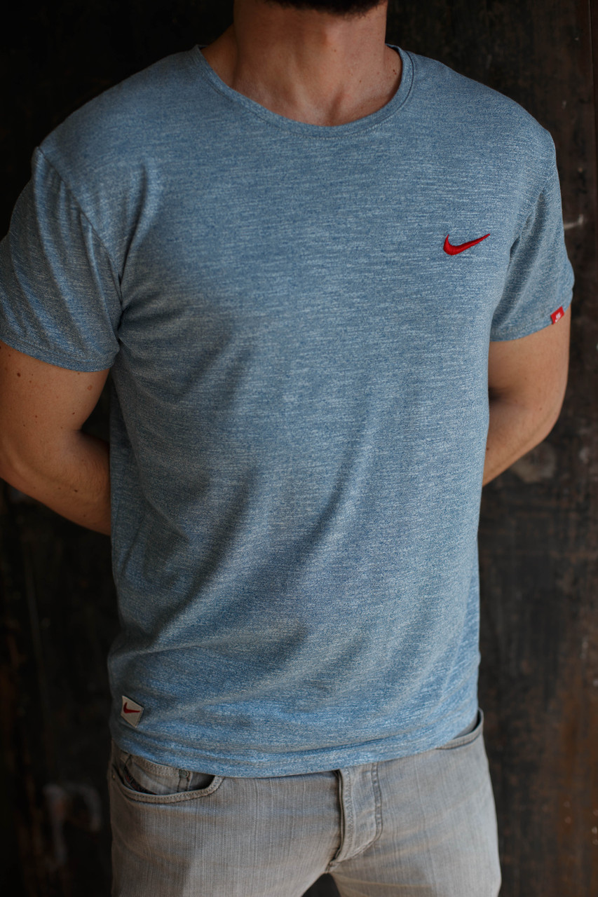 Мужская футболка Nike KD-2207.Серая