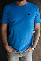 Мужская футболка Nike. Мятный, голубой, синий. , фото 3