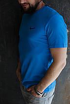 Мужская футболка Nike. Мятный, голубой, синий. , фото 2