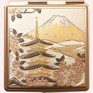 Компактное зеркало «Храм Хокканджи»