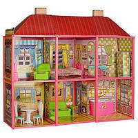 Кукольный Домик 6983 С Мебелью, 2 Этажа И 6 Комнат, 108,5-93-37 См.