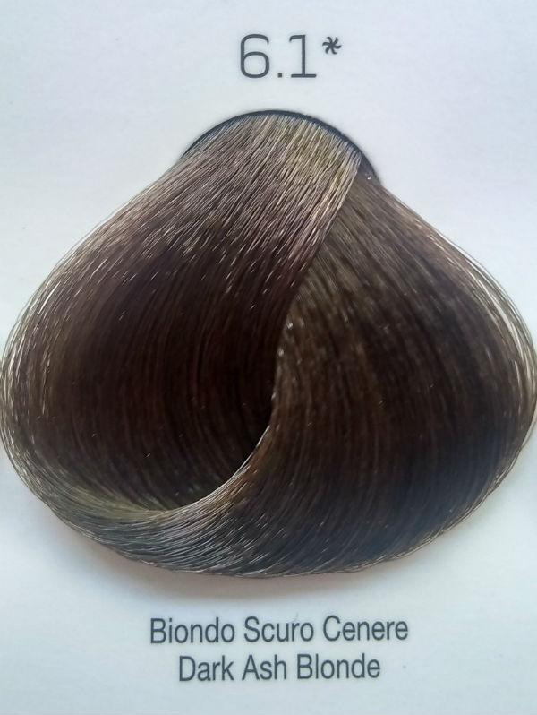 Стойкая крем-краска Color One KROM 6/1 темно-серый блондин , 100 мл