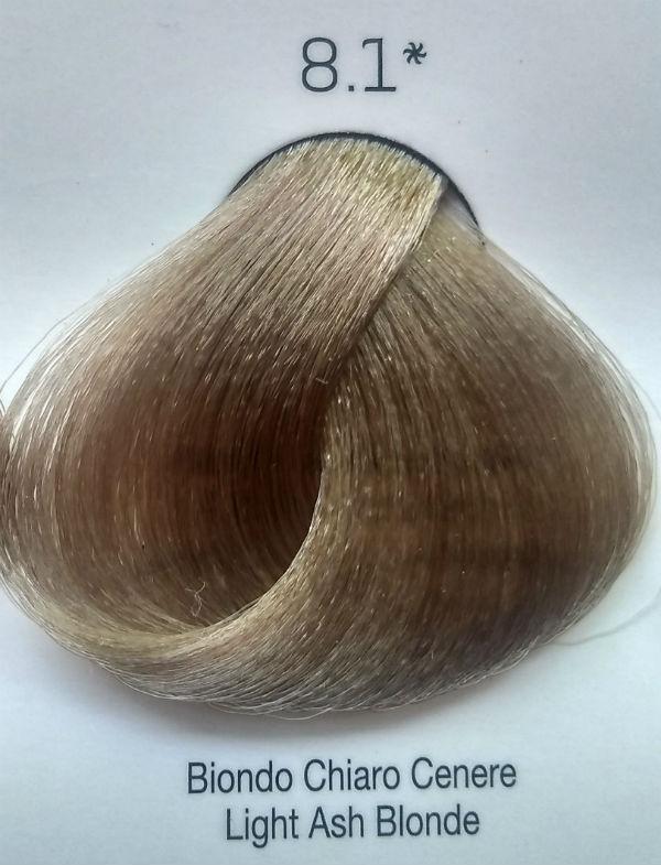 Стойкая крем-краска Color One KROM 8/1 светло серый блондин , 100 мл
