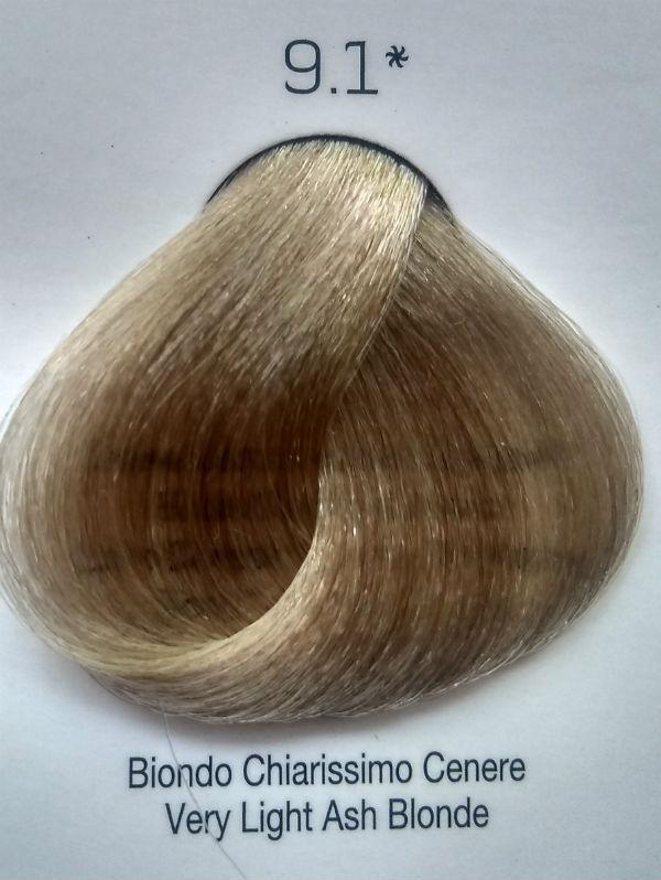 Стойкая крем-краска Color One KROM 9/1 Очень светло серый блондин , 100 мл