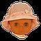 Панамка в полупрозрачный горошек Єви Elf-Kids 42р., фото 2