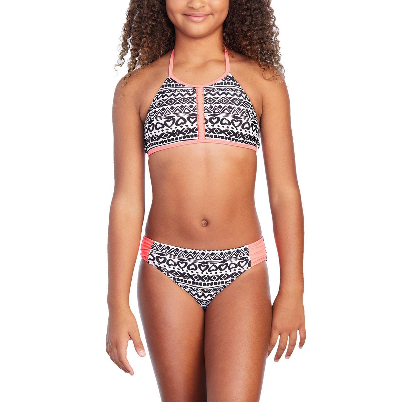Купальник для девочек США на рост 116-135 см раздельный Corazon детские купальники