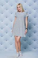 Стильное женское платье в полоску   Ткань: вискоза Размеры: 42, 44, 46, если 48-50, 52-54, 56-58 +30грн